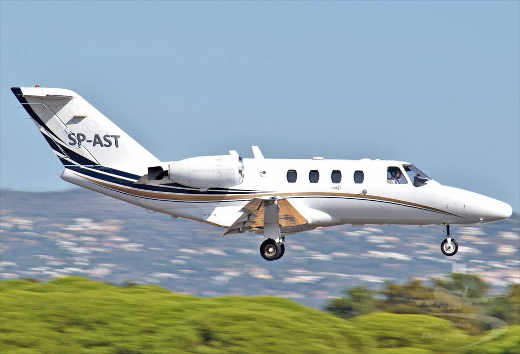 C-JET LDA CESSNA 525 CITATIONJET 1 SP-AST.jpg